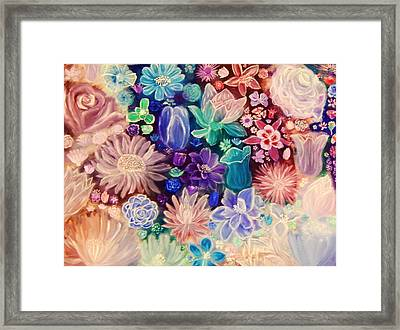 Heavenly Garden Framed Print by Samantha Thome