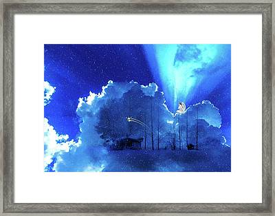 Heavenly Grace Framed Print by Cocoparisienne