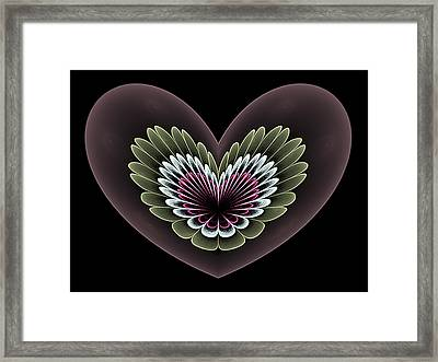 Heavenly Heart Framed Print