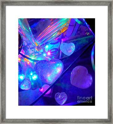 Heavenly Hearts Framed Print
