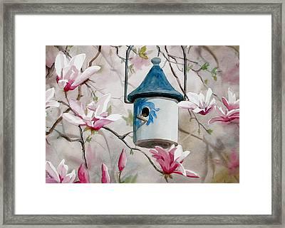 Heavenly Home Framed Print by Faye Ziegler