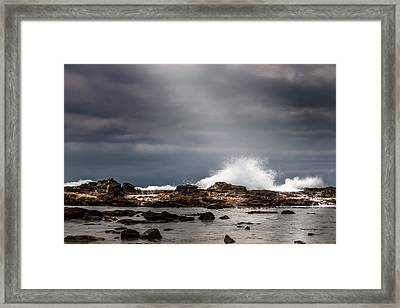 Heavenly Light Framed Print