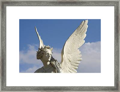 Heavenly Framed Print by Marc Huebner