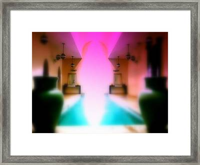 Heavenly Marrakech Spa Framed Print by Funkpix Photo Hunter