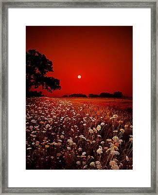 Heavenly Peace Framed Print