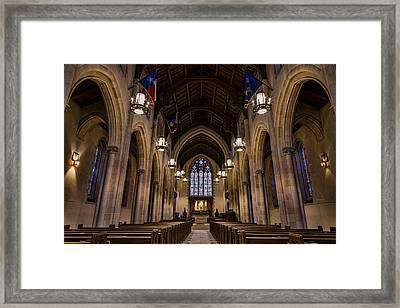 Heavenly Rest Sanctuary Framed Print by Stephen Stookey