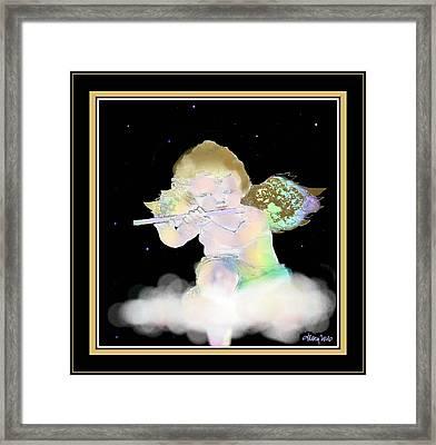 Heavenly Serenade Framed Print