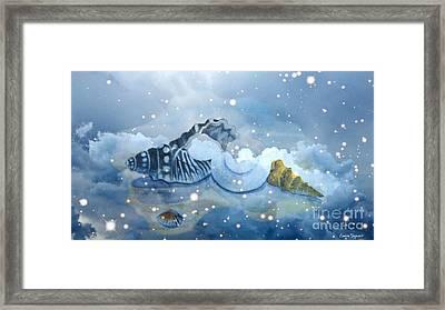 Heavenly Shells Framed Print