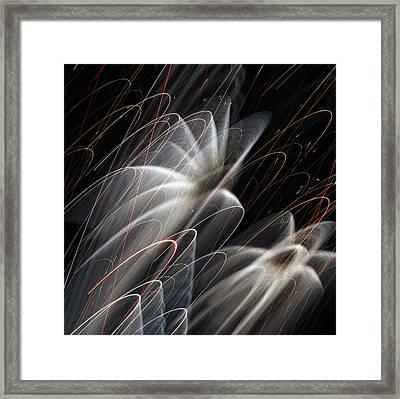 Heavenly Shower Framed Print