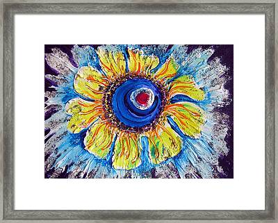 Heavenly Stars In A Ring Framed Print by Sarah Hornsby
