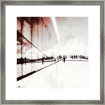 Heavenly Walk In Oslo 1 Framed Print by Marianne Hope