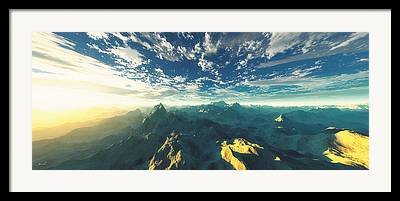Terragen Framed Prints
