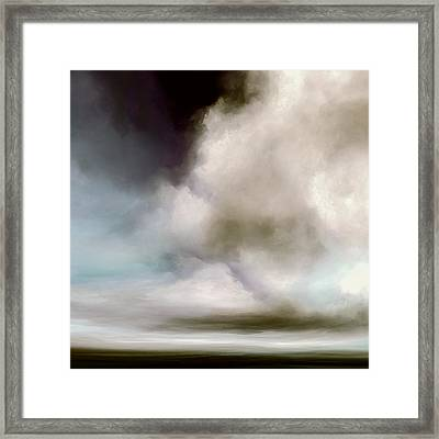Heavens Divide Framed Print