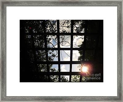 Heavens Door Framed Print by Robyn King
