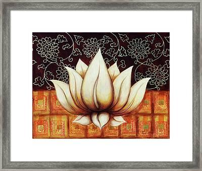 Heaven's Flower Framed Print