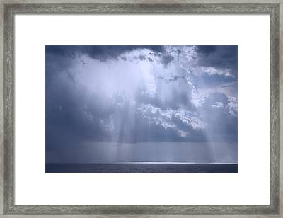 Heaven's Gate Framed Print by Theresa Campbell