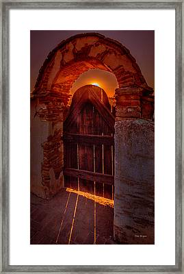 Heaven's Gate Framed Print