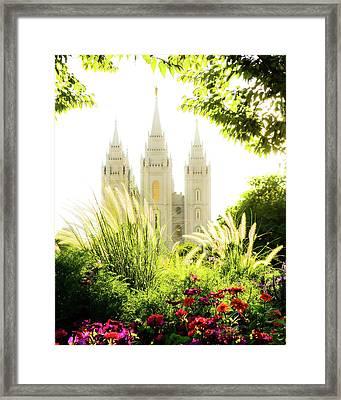 Heavens Glory Framed Print by La Rae  Roberts