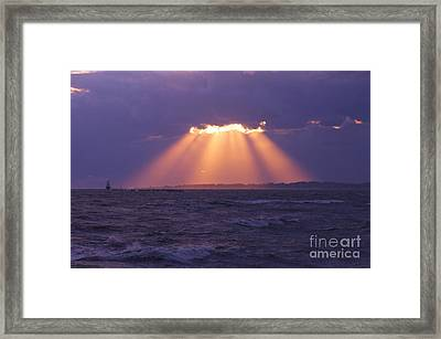 Heaven's Light Framed Print by Cindy Lee Longhini