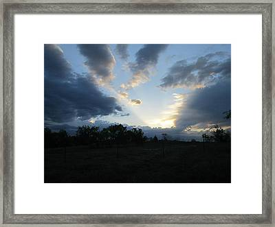 Heavens Light Framed Print by Rosalie Klidies