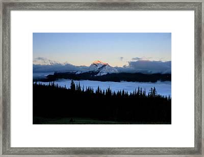 Heaven's Peak Framed Print by Dave Hampton Photography