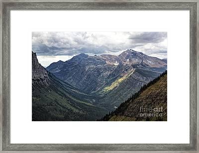 Heaven's Peak Framed Print