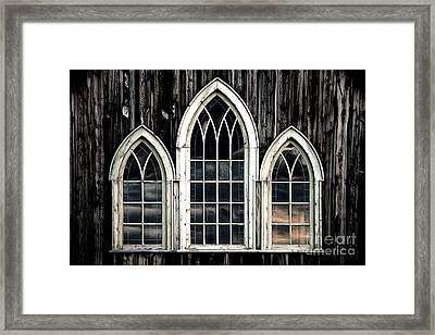 Heaven's Reflection Framed Print