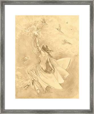 Heavenward Framed Print by Julianna Ziegler