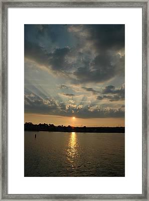 Heavenward Framed Print by Rebecca Fitzgerald