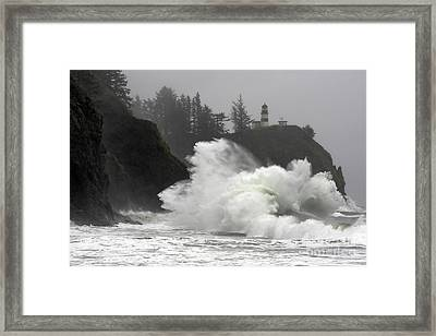 Heavy Disappointment Framed Print