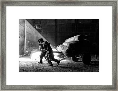 Heavy Load Framed Print