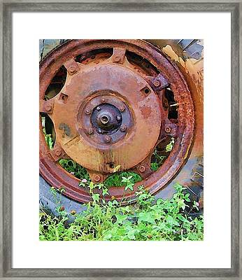 Heavy Metal Framed Print by Debbi Granruth