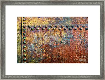 Heavy Metal Framed Print by Tim Gainey
