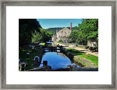 Hebden Bridge Framed Print by Nichola Denny