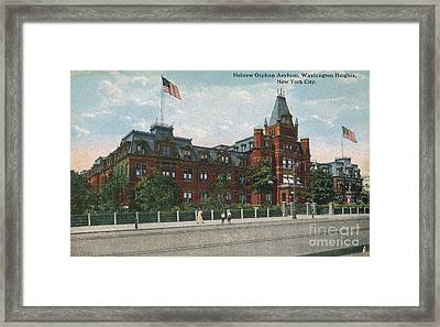 Framed Print featuring the photograph Hebrew Orphan Asylum by Cole Thompson