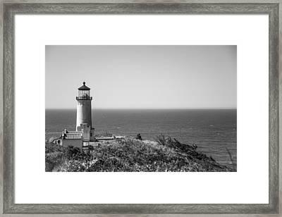 North Head Lighthouse Framed Print by Ralf Kaiser
