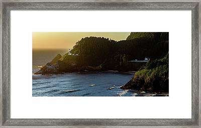 Heceta Head Lighthouse Framed Print