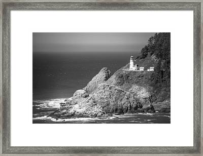 Heceta Head Lighthouse Framed Print by Ralf Kaiser