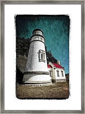 Hecitia Head Lighthouse Framed Print