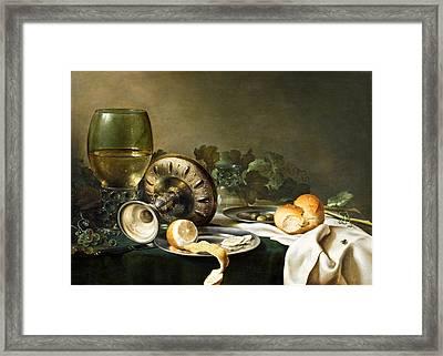 Heda - Still-life Framed Print by Mountain Dreams