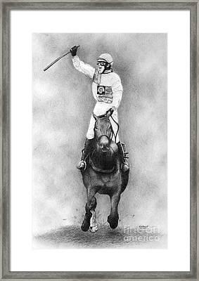 Hedgehunter Framed Print by Stuart Attwell