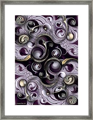 Hedonic Energy Framed Print