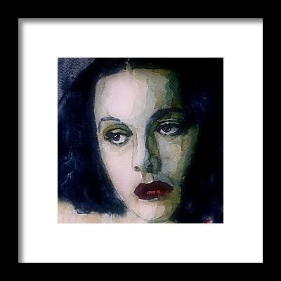 Vintage Actress Framed Prints
