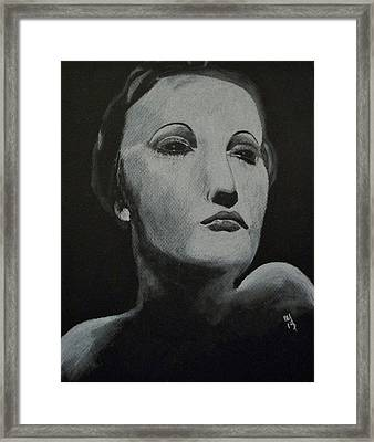 Hedy Framed Print by Nick Young