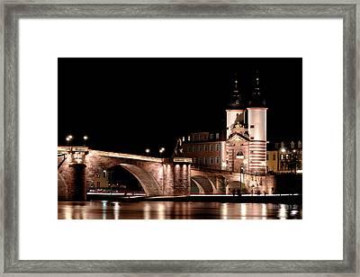Heidelberg Bridge Framed Print