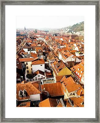 Heidelberg Cityscape Framed Print