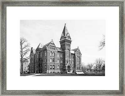 Heidelberg College University Hall Framed Print