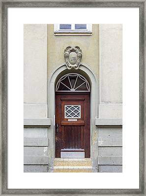 Heidelberg Door 03 Framed Print