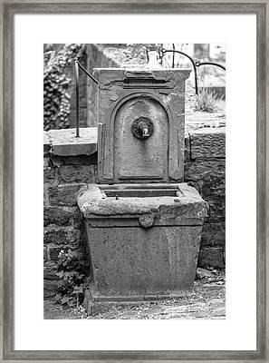 Heidelberg Fountain Framed Print