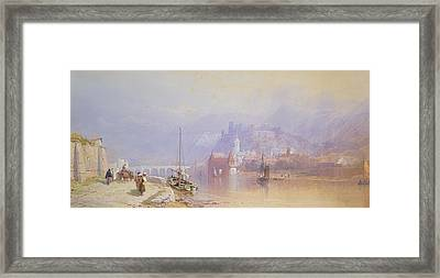 Heidelberg Framed Print by Thomas Miles Richardson